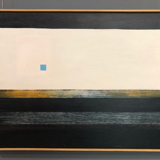 Ernest Philpot  tranquility  Oil on board, 1967