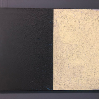 Andre Lipscombe  lining (after cw)  Acrylic on plywood, 2014