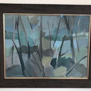 Miriam Stannage  untitled  Oil on canvas 1983