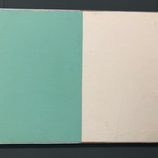 Andre Lipscombe  outfield  Acrylic on plywood, 2014
