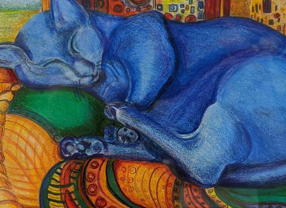 Leon Allen_Klimpt's Cat_Gussie.jpg