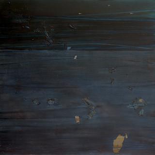 Mac Betts  marble bar  Oil on canvas 1971