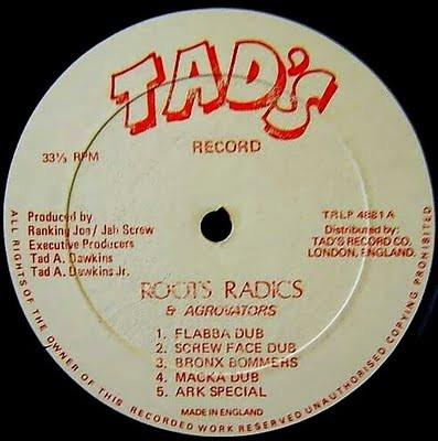 Errol Holt - Roots Radics Dub - Label.jp