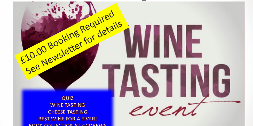 Men's Wine and Cheese Tasting