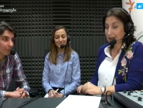 რადიო თავისუფლების გადაცემა ,,გენდერული ამბები ''