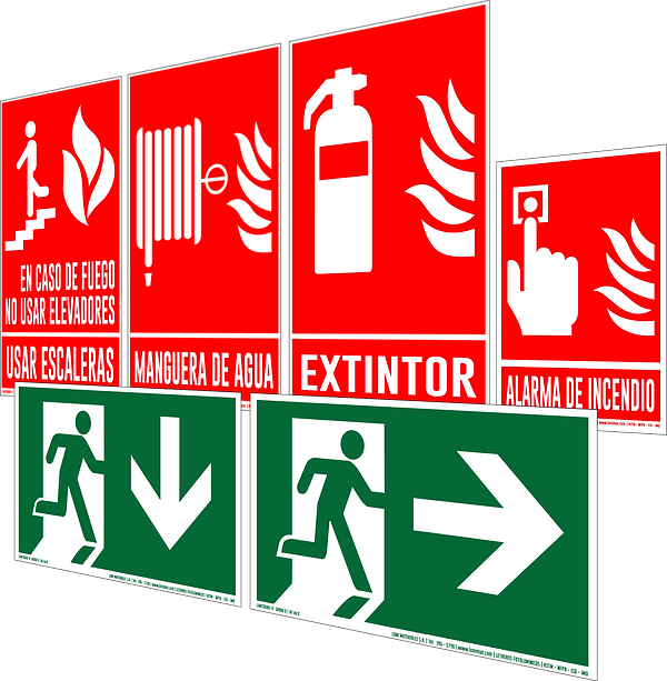 Letreros de Emergencia