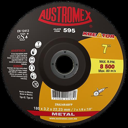 595 Disco corte de metal 7X1/8X7/8