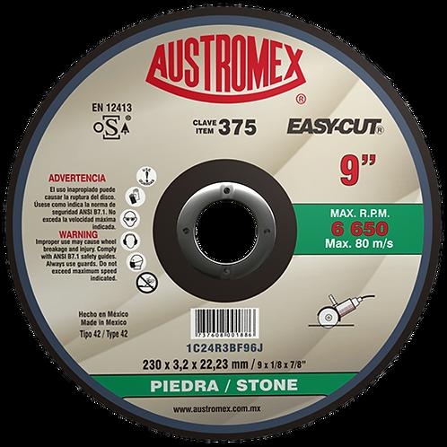 375 Disco corte de piedra 9X1/8X7/8