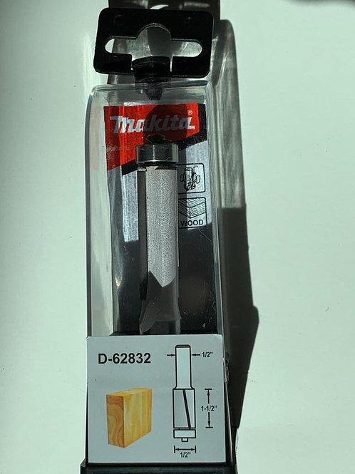 """D-62832 Fresa p/enrasar formaica con balero 2 filos 1/2"""" x 1 1/2"""" x 1/2"""""""