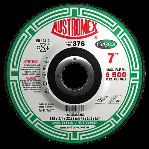 376 Disco desbaste de piedra 7X5/32X7/8