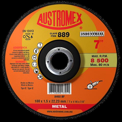 889 Disco corte de metal 7X0.060X7/8