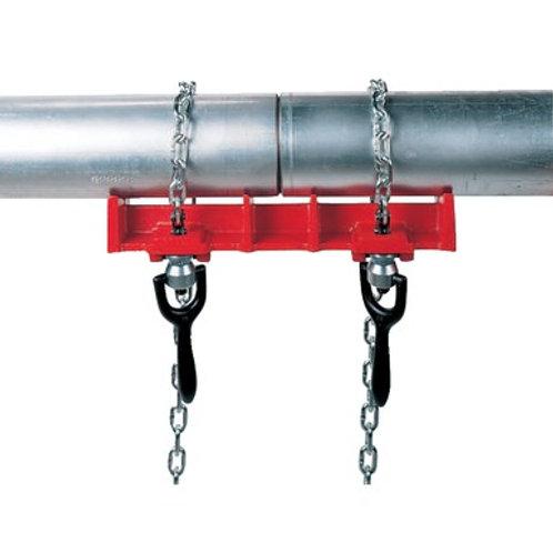 """40230 Tornillo de banco para soldar tubos acodados 2 1/2""""-8"""" Mod. 463"""