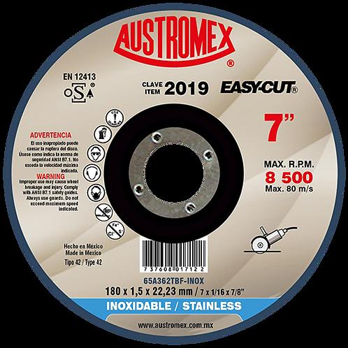 2019 Disco corte de metal 7X1/16X7/8