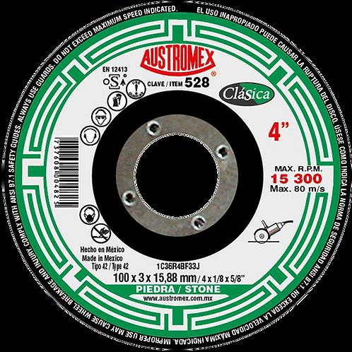 528 Disco corte de piedra 4X1/8X5/8