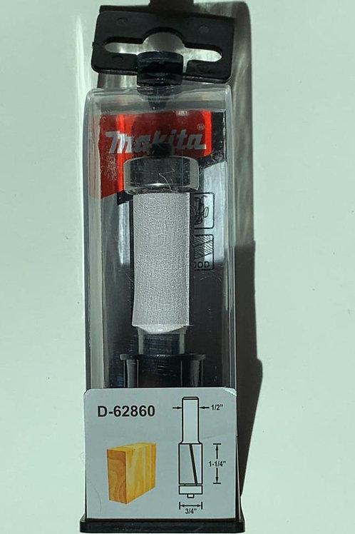 """D-62860 Fresa p/enrasar formaica con balero 2 filos 3/4"""" x 1 1/4"""" x 1/2"""""""