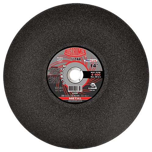 744 Disco corte de metal 14X1/8X1