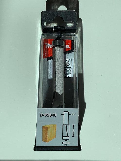 """D-62848 Fresa p/enrasar formaica con balero 2 filos 1/2"""" x 2"""" x 1/2"""""""