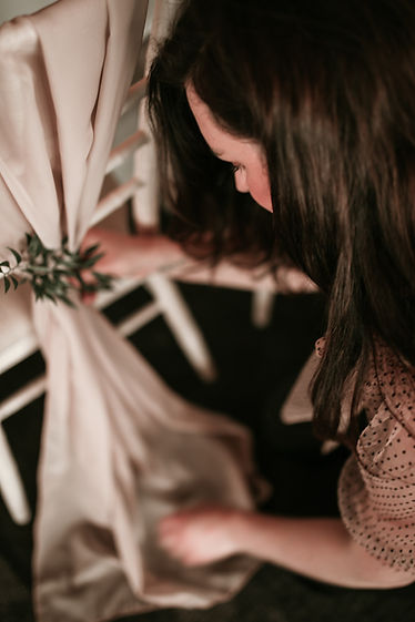 Wedding styling by wild feather