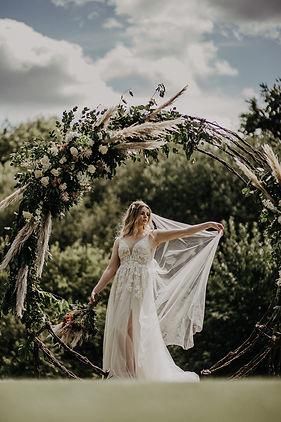 Wicker Wedding Arch