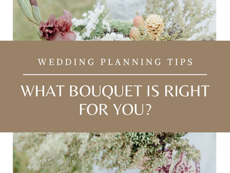 What bouquet is right for you?