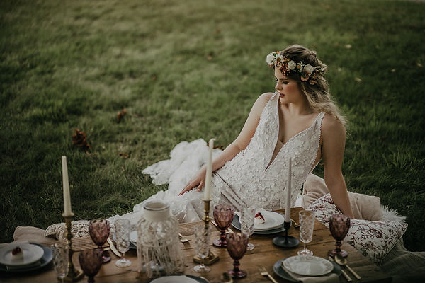Wedding Boho picnic
