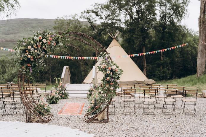 pop up wedding ceremony