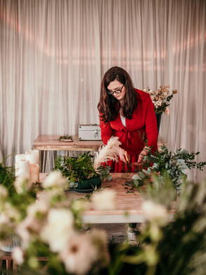 Wedding flowers by wild feather