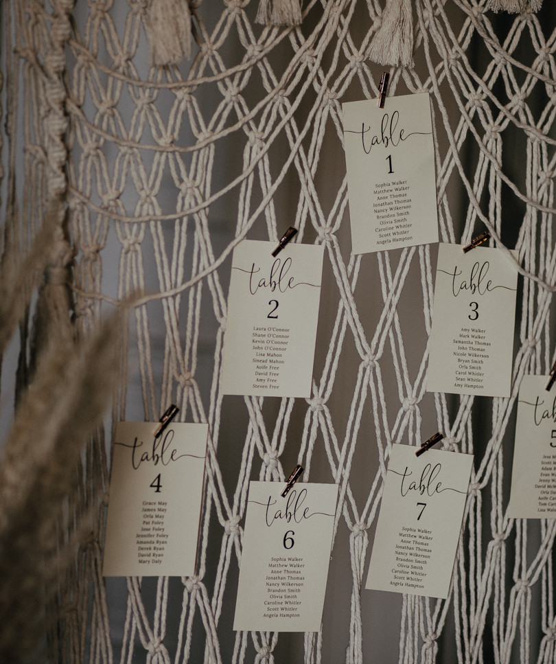 macrame table plan