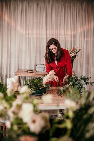 Wedding florist Laura