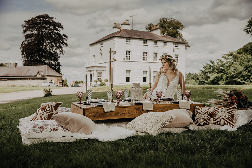 Luxury Boho picnic at boyne hill