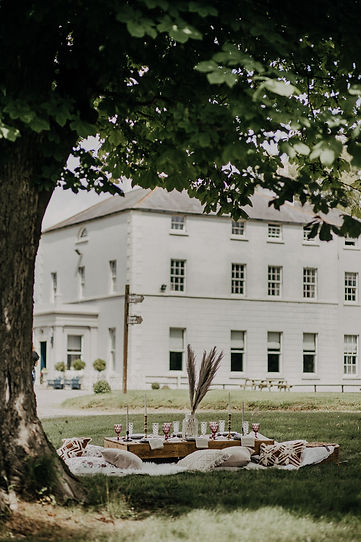 boho picnic at boyne hill house