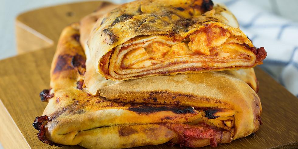 """Sizilianische Pizza """"Scaccia"""" Kochkurs"""