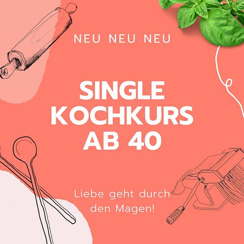 Single Kochkurs ab 40