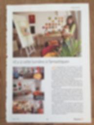 article presse Nicole Bovard