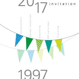 Carte anniversaire d'entreprise