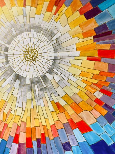 La mosaïque du Soleil