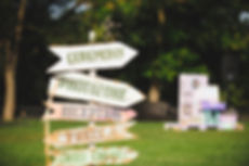 panneaux signalisation mariage