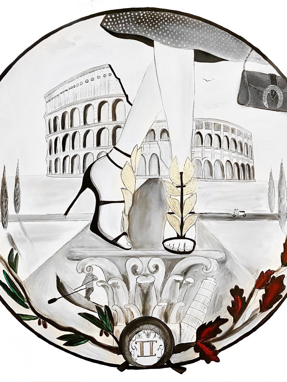 Italia - La Romaine