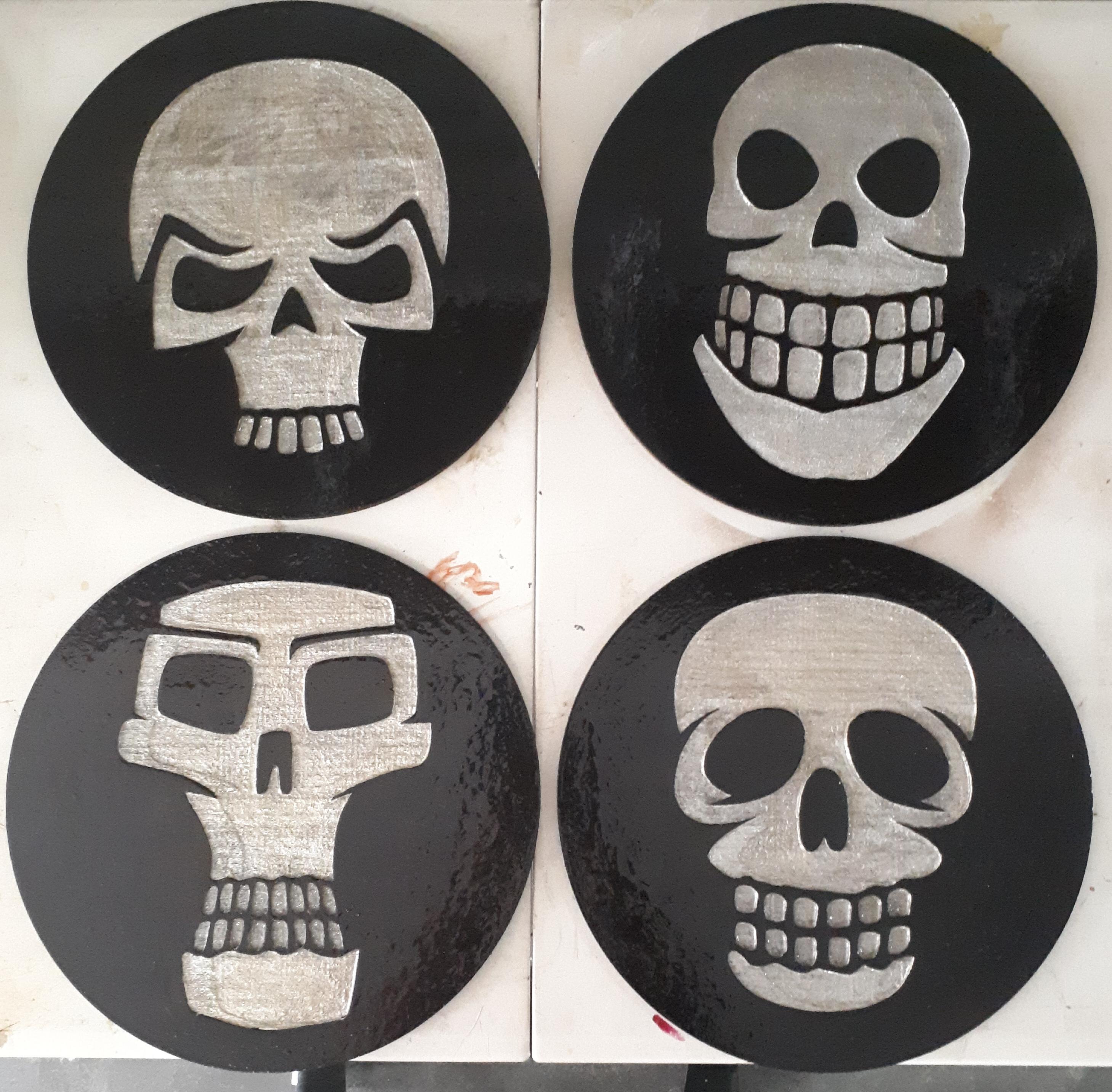 SkullPlacemats