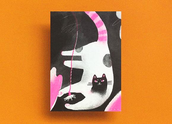 黑面貓 cat#03