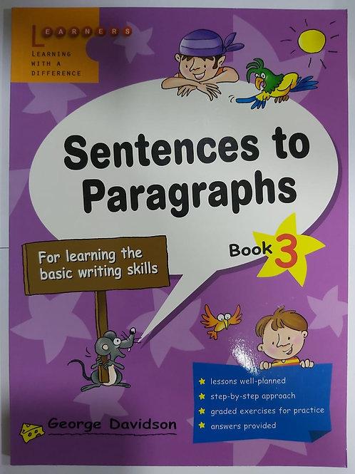 Sentences to Paragraph