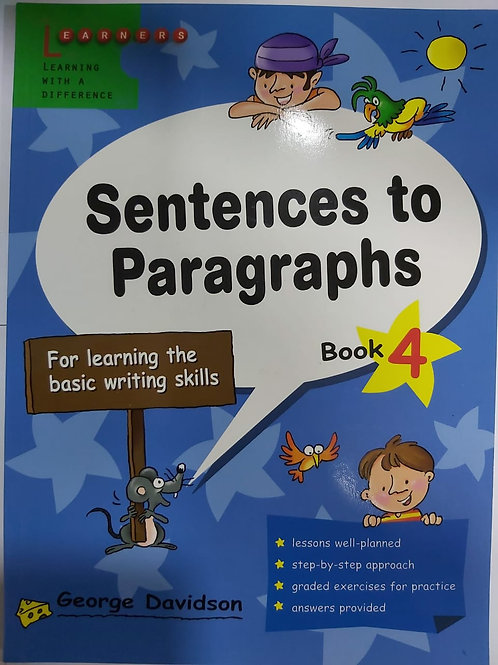 Sentences to Paragraph