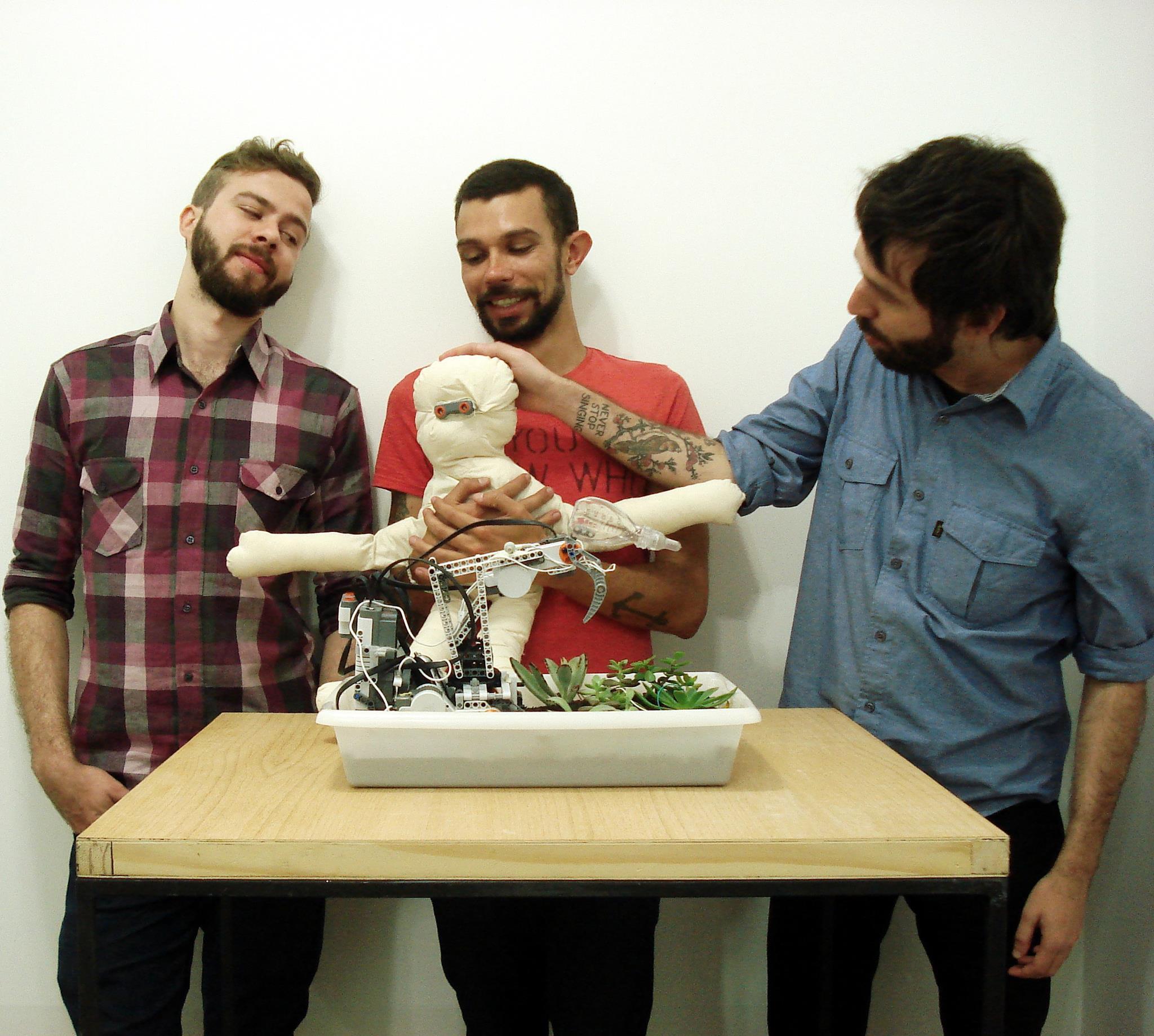 #hugrobot e Robô de Jardim, 2010