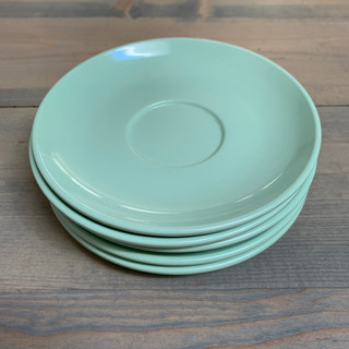 Green Mini Dessert Plates - $0.50 each