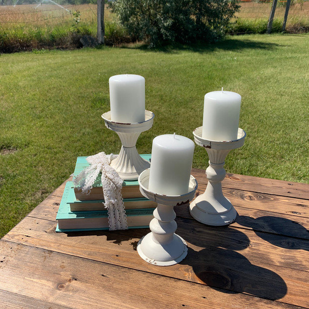 Metal Candlesticks - $1 each