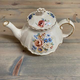 Floral Teapot - $7