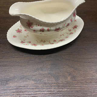 Floral Gravy Bowl - $3