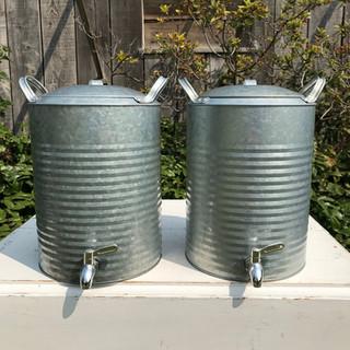 Galvanized Drink Dispeners - $10 each