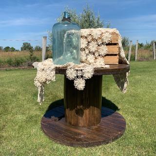 Spool Table - $45
