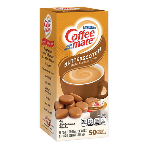 Coffee Mate Butterscotch Liquid
